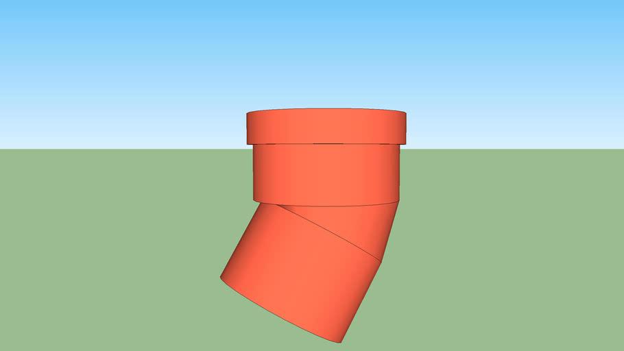 PVC 110 Drain Pipe Bend 30