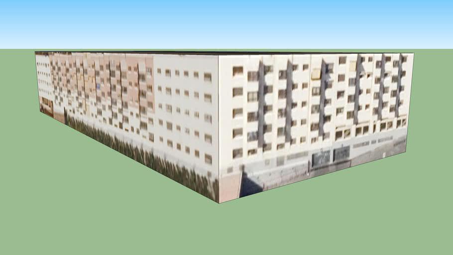 Edificio en Madrid modelado por L.C.A, España