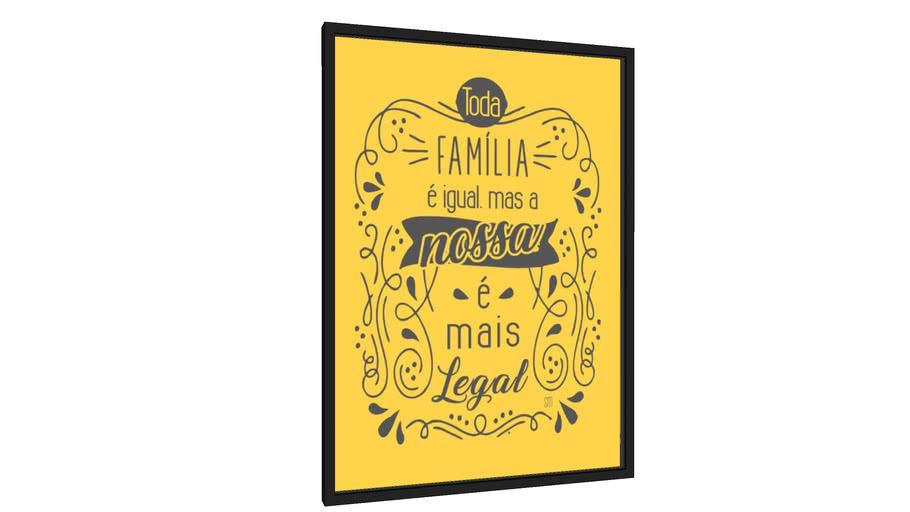 Quadro toda família - Galeria9, por Sabrina Matias