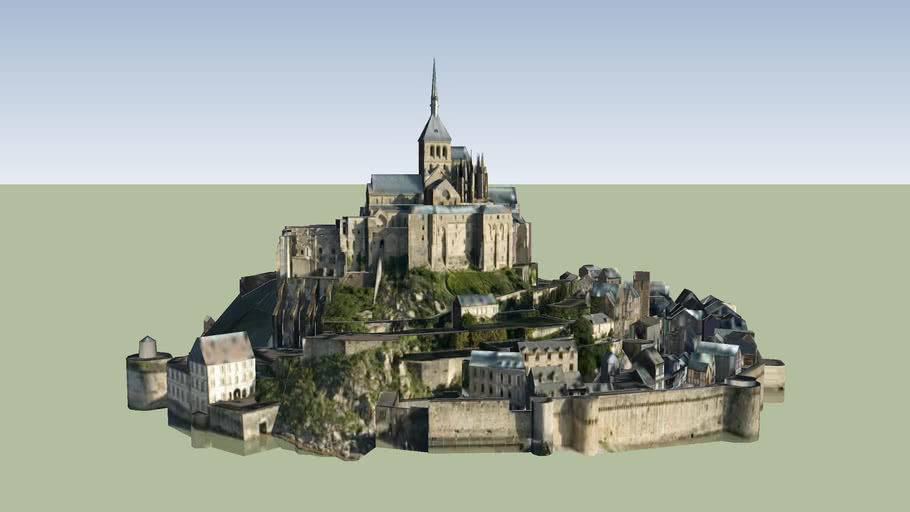 Le Mont-Saint-Michel, Normandy France