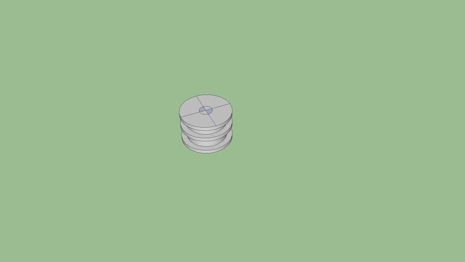 Maxibit Stage Chrome Ring