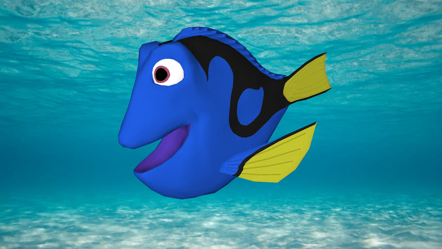 Dory fish | 3D Warehouse