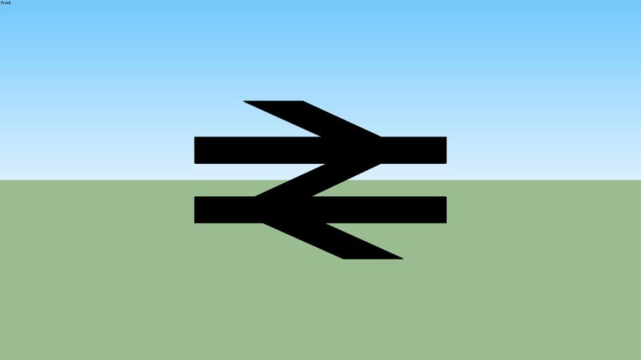 Railway Symbol (Classic Black)