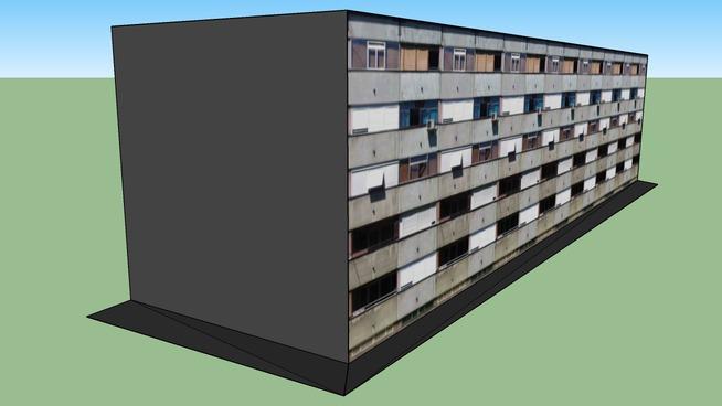 Srednjaci - Zgrada