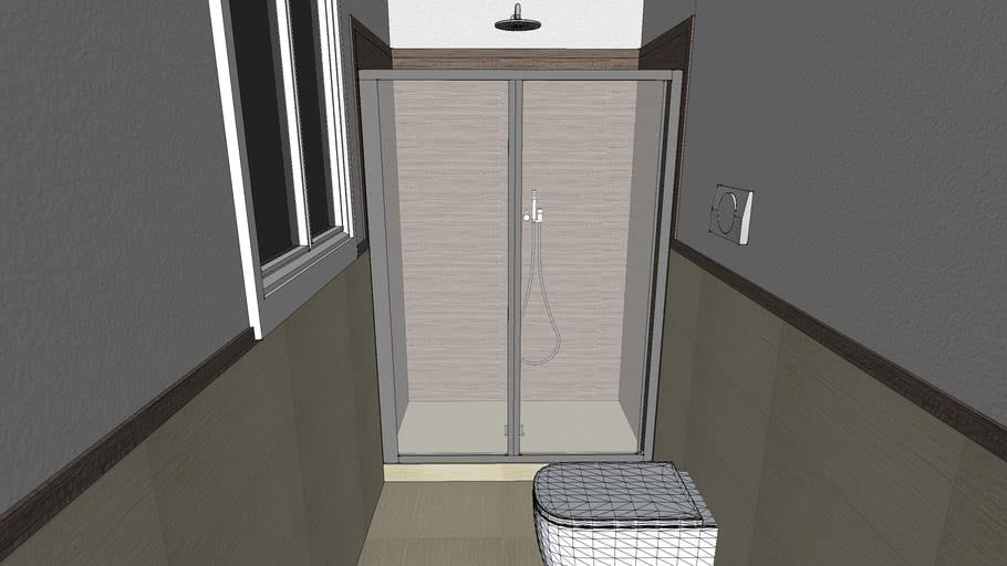 progetto per la ristrutturazione di un piccolo bagno