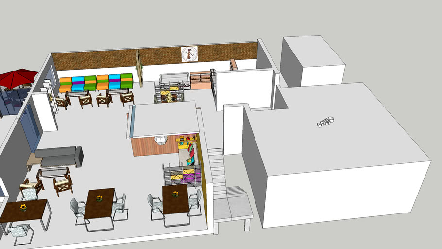 Restaurant Cafe design
