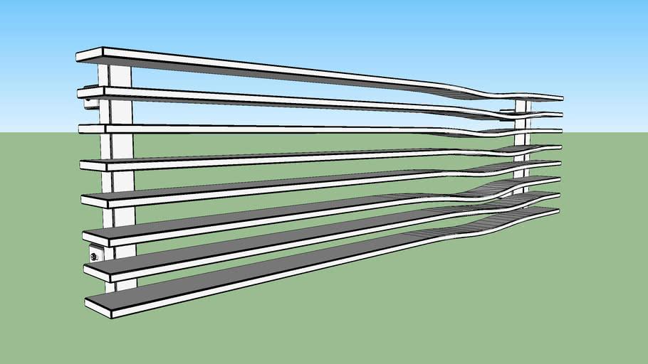 Terma Radiator Geo H 298 1200 O1