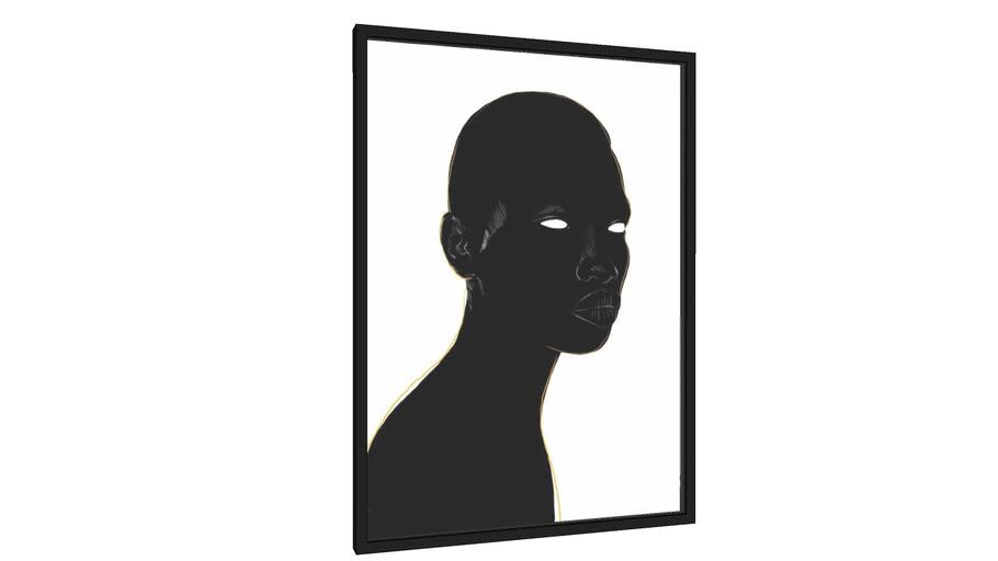 Quadro Black Gold I - Galeria9, por Natsuo