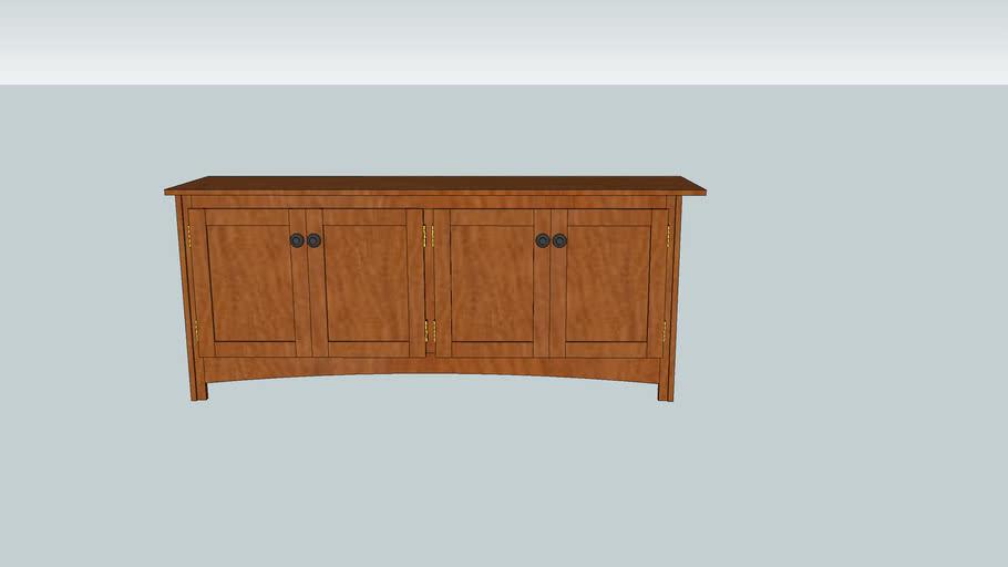 Sofa Table Bookcase