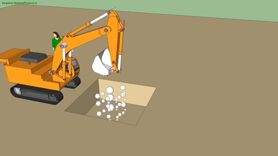 excavadora (sketchyphysics)