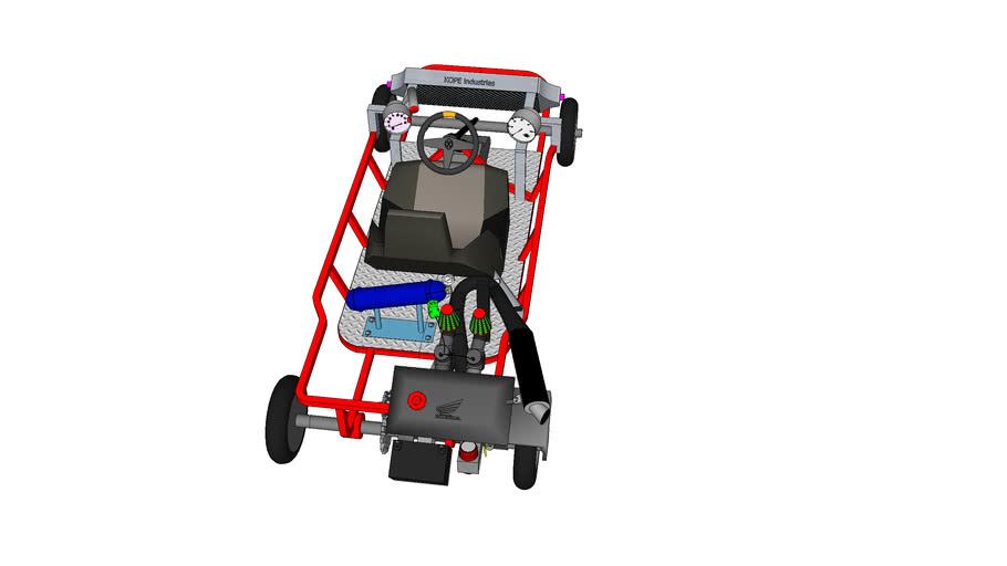 Racing Kart double carb