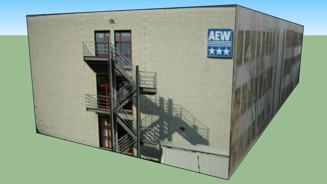 Gebäude AEW Lenzburg