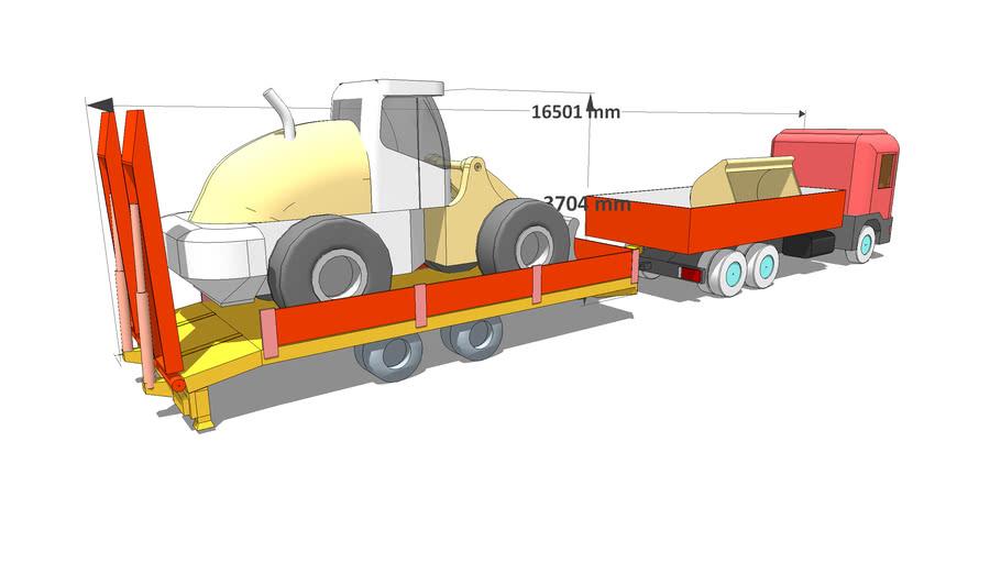 doprava ZV18 + LH 538 transport
