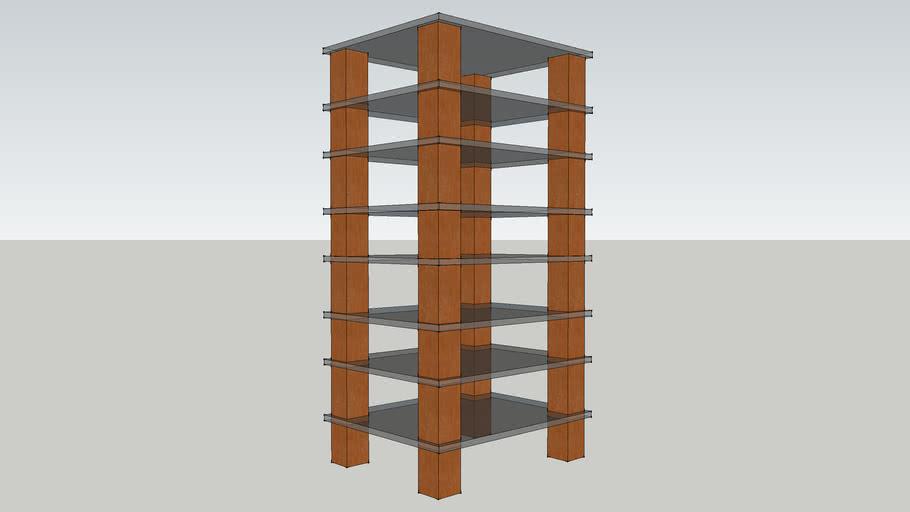 French shelf