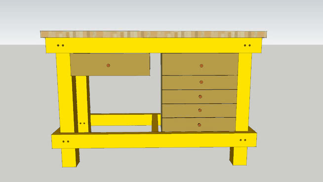 workbench outhouse sawhorse