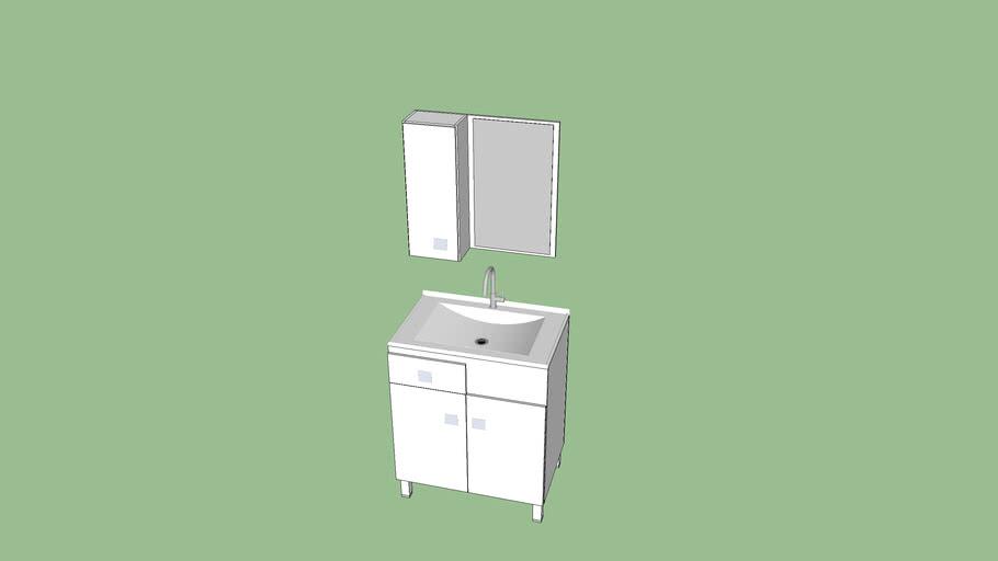 Gabinete Banheiro