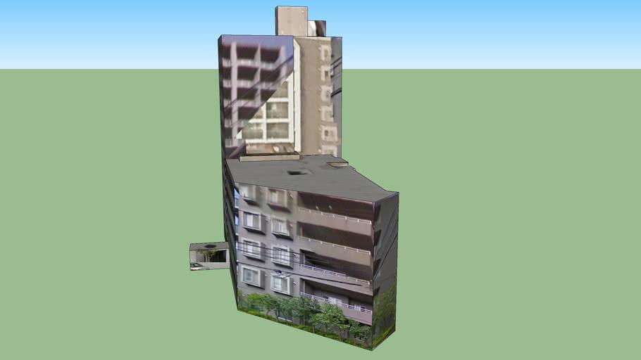 Building in Sapporo, Hokkaido Prefecture, Japan