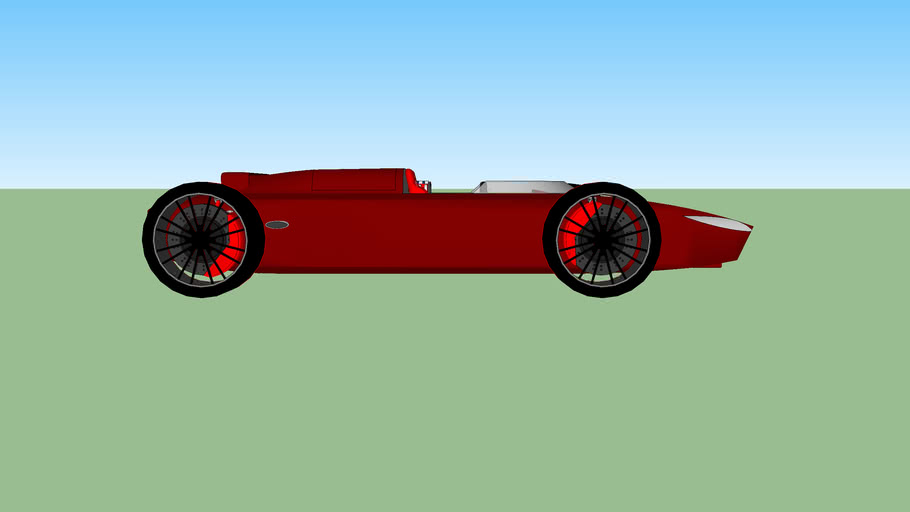 1960's F1 Car inspired car