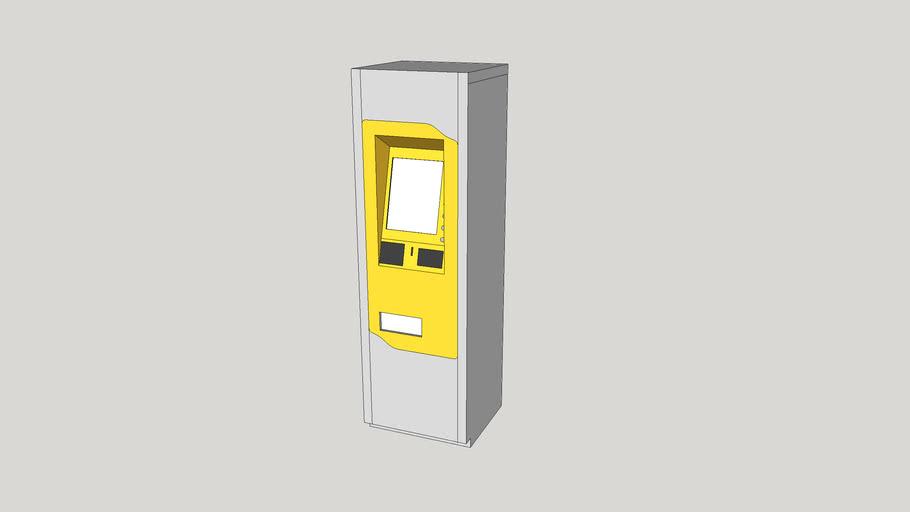 Transit / ticket fare vending machine