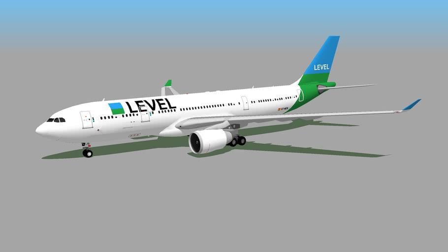 LEVEL (by Iberia) (EC-NEN) - Airbus A330-202 (2019)