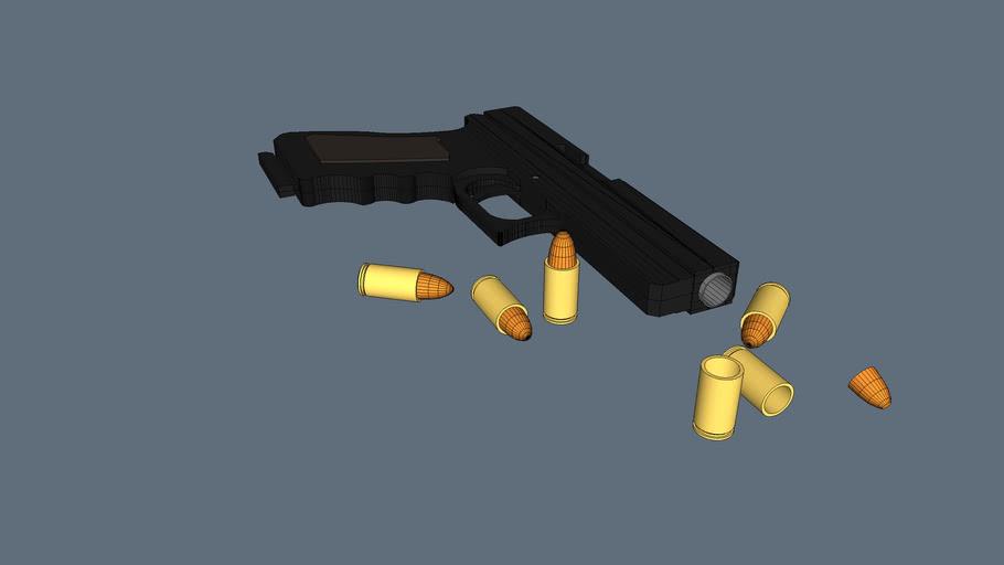 Arma Pistola+munição