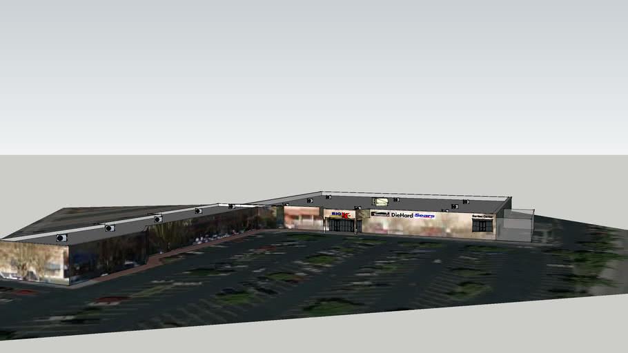 Atascadero Big Kmart and Shopping center