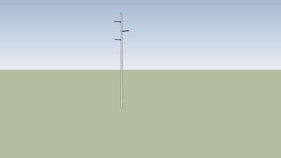 Concrete power pole #2