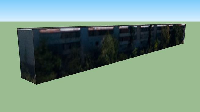 Building in De Los Aromos, Mendoza, Mendoza Province, Argentina