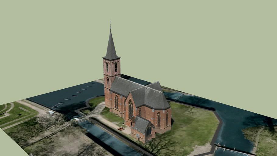 Kerk at castle the haar