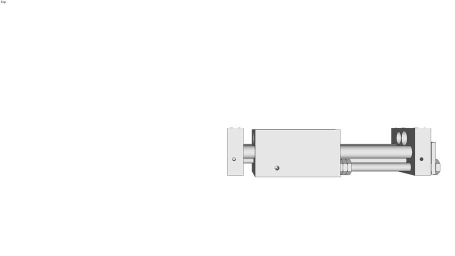 Lineareinheit LEK-K-K-6-16 in kompakter Bauart mit abgedichteter Kugelf�hrung