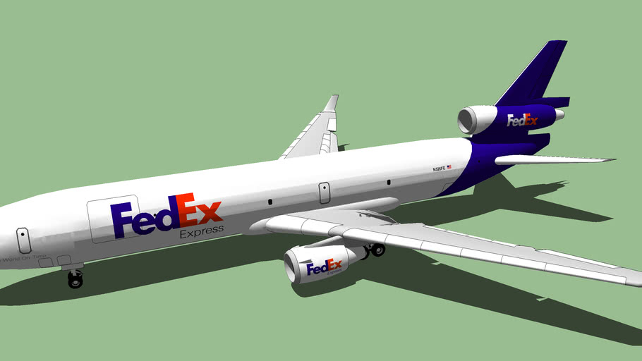FedEx Express (2012)  - McDonnell Douglas MD-11F.