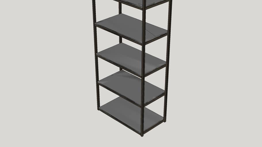 """Runcorn 78"""" Etagere Bookcase"""