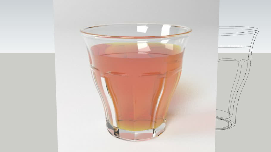 Duralex Picardie glass