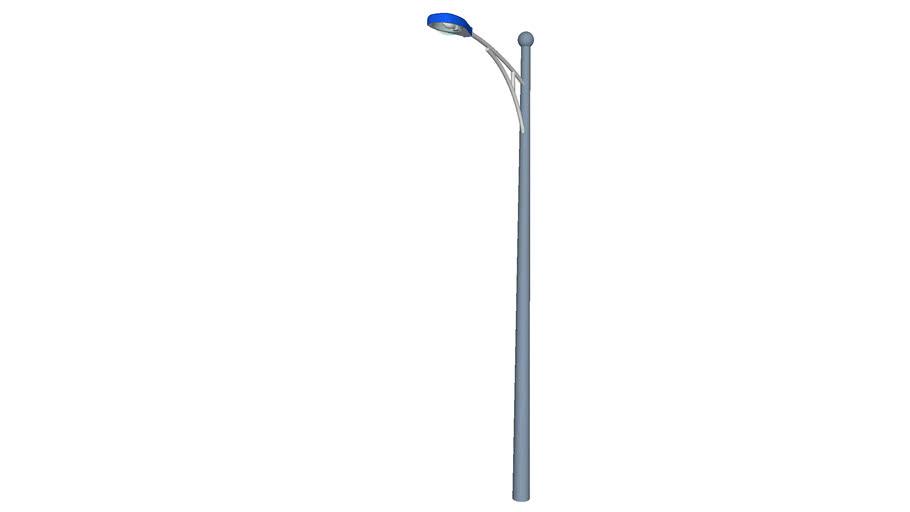 Rural Street Light - Detailed