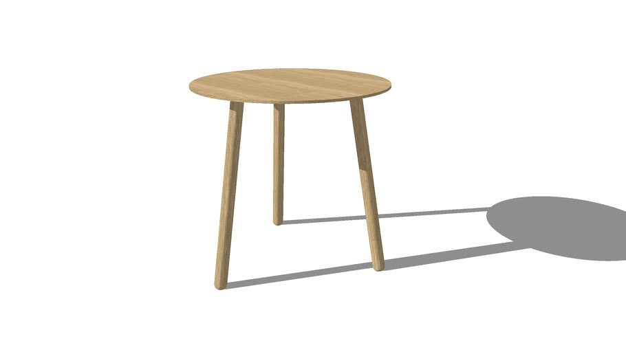 Knock on wood Coffee table, Small tall, by Icons of Denmark