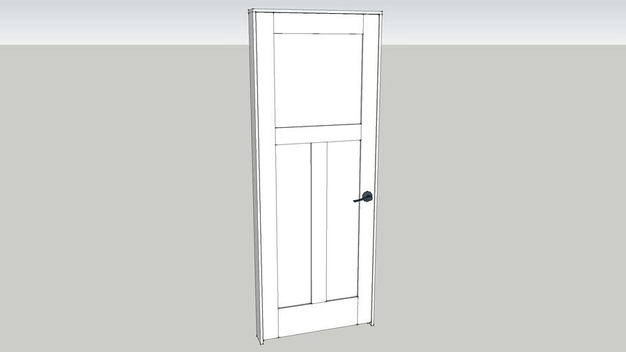 Configurable Shaker Door
