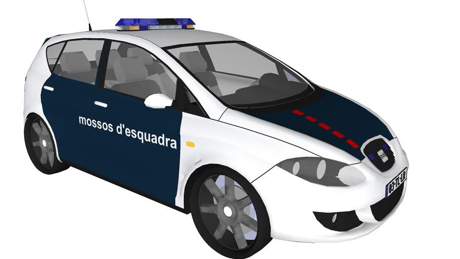 Barcelona Police car (mossos d'esquadra)