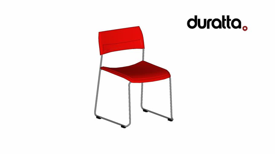 Cadeira Work Fixa sem Braço
