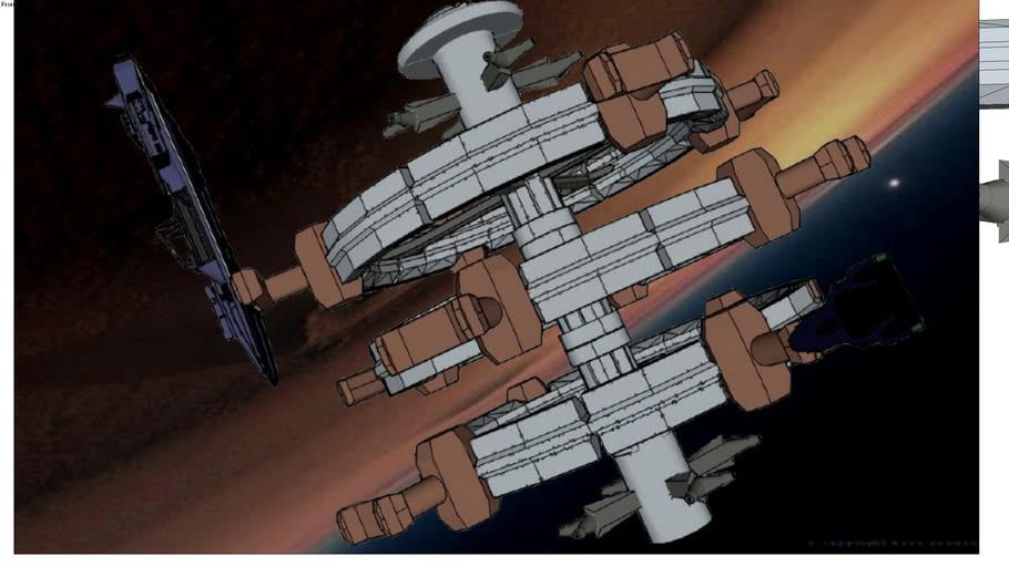 Orbital Station B001