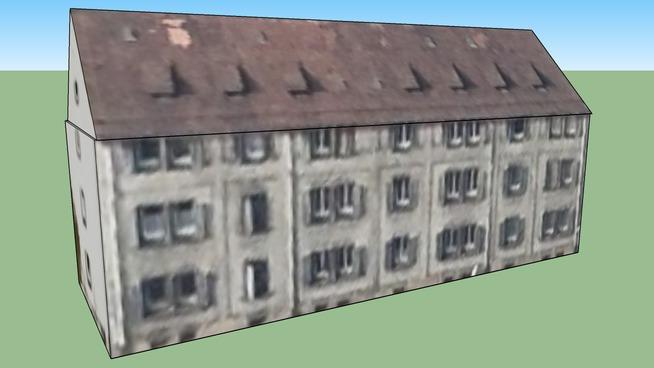Gebäude in Nürnberg, Deutschland