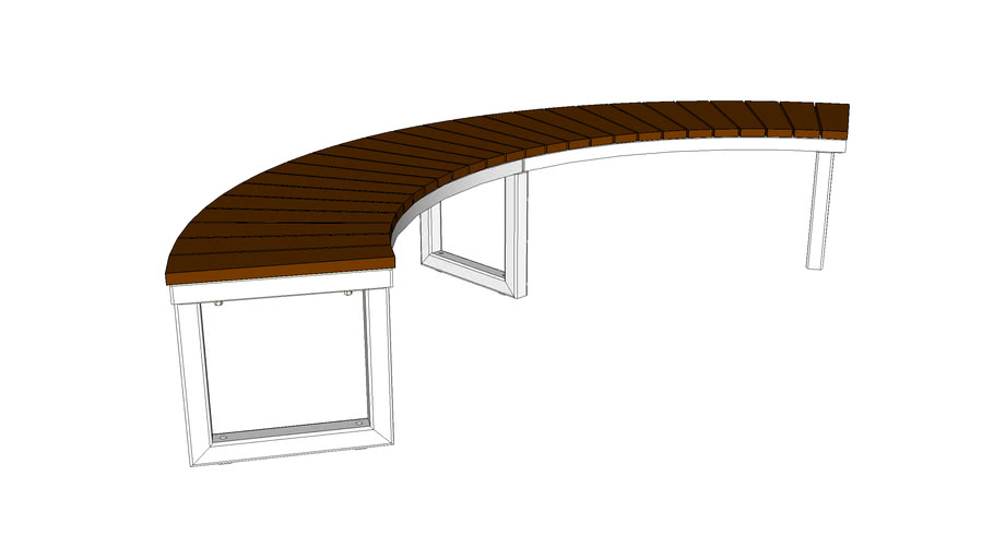 LAYT_OGM1900-00046 Backless Curved Bench