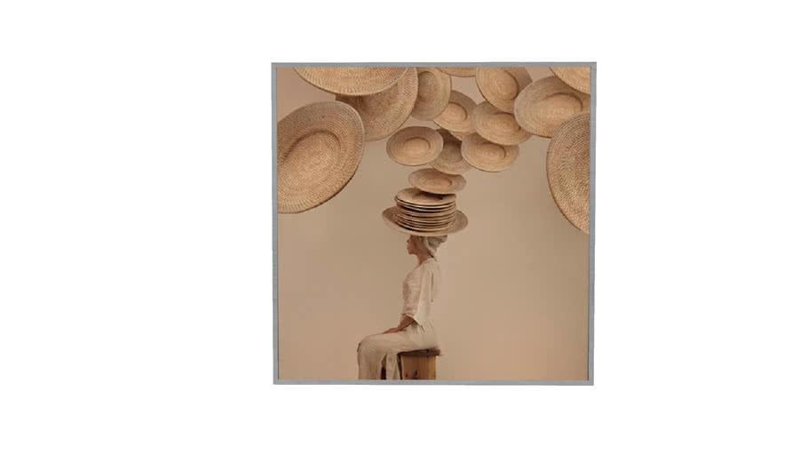 ARTIMAGE - Ventoso - 123 x 123 cm