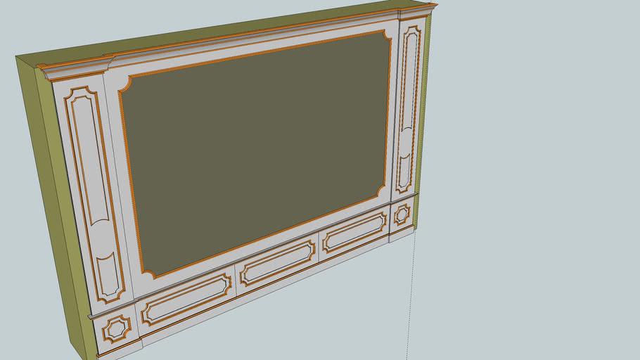 Baroque paneling