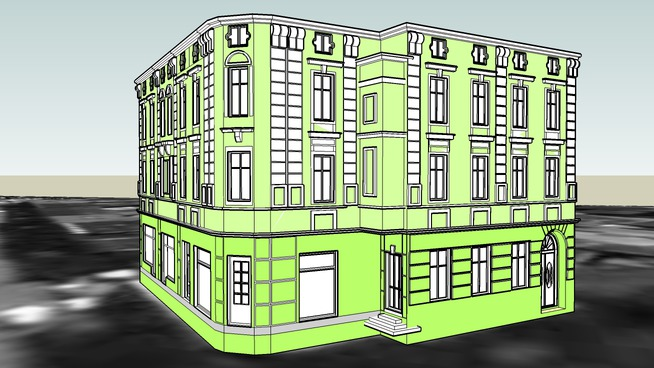 TENEMENT HOUSE ON 39 DWORCOWA STREET IN BYDGOSZCZ