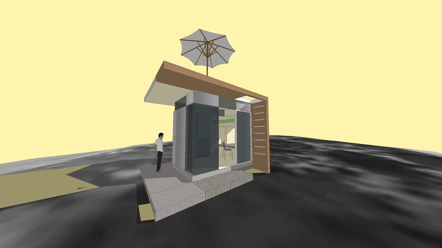 Skinny Urban shelter