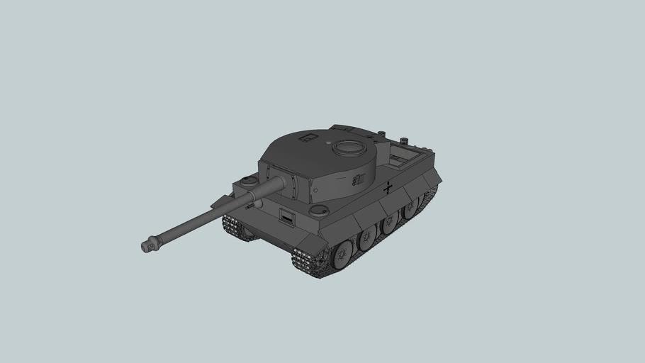 """panzer IV aust """"E"""" tiger"""