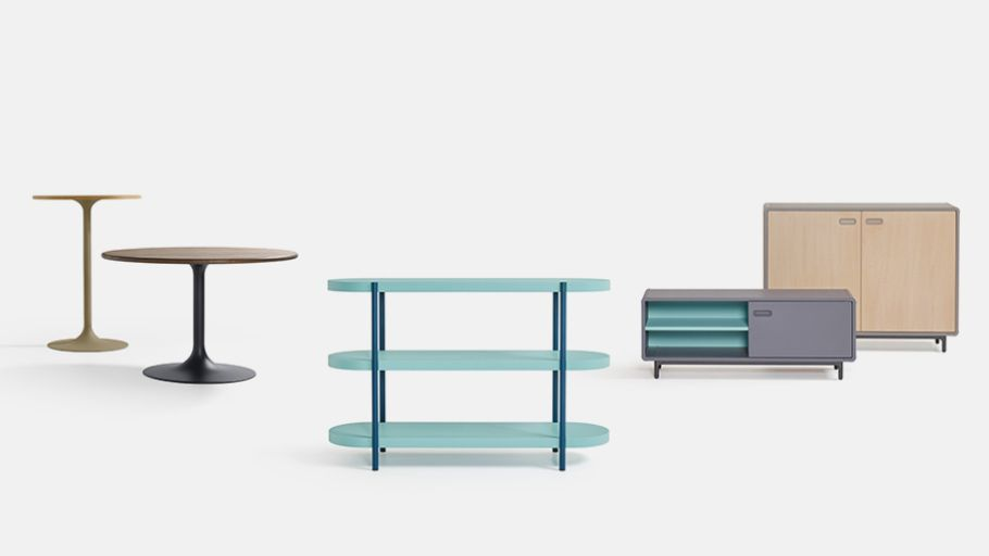 Tables and Cabinets by Artifort
