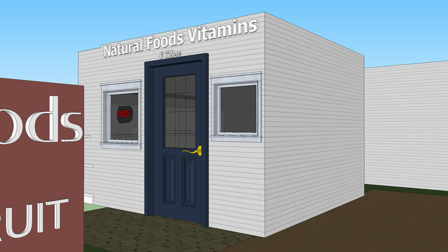 Natural Foods & Vitamins Furnished