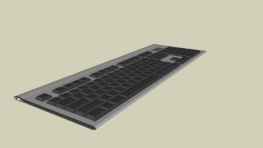 Keyboard 3D