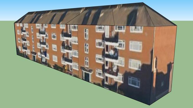 Building in Lambeth, Greater London, UK